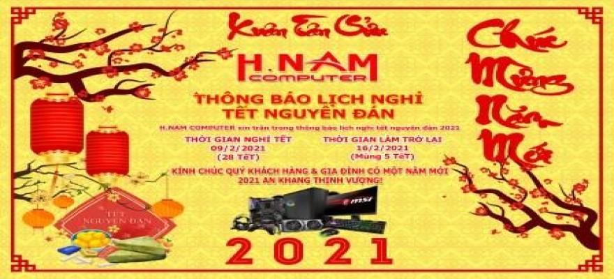 Thông báo Lịch nghỉ TẾT Nguyên Đán năm 2021