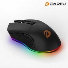 Chuột Không Dây Gaming Dareu EM901 RGB Black