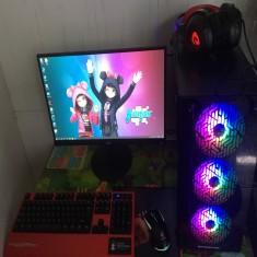FULLSET PC Game MSI H410 A PRO/G6400/GTX MSI 1030/RAM 8G/SSD 120GB/LCD HKC 22inch
