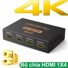 Bộ chia cổng HDMI 1 cổng ra 4 cổng