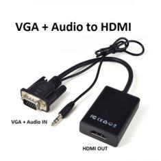 Cáp chuyển đổi tín hiệu từ VGA sang HDMI có âm thanh