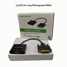 Cáp DVI 24+1 sang VGA kingmaster
