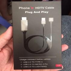 Cáp HDMI MHL đa năng từ điện thoại lên Tivi