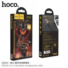 Cáp sạc chống đứt chống rối dây dù lightning 3.0A HOCO UD02 - DÀI 1m