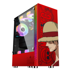 Case Mik DT03 Red Luffy Edition - No Fan