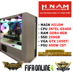 PC Gaming H310M G5400 RAM 8G GTX 1050Ti 4G