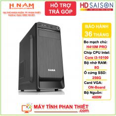 Cấu hình PC Văn Phòng - Thế hệ 10 - Core i3 10100 - RAM 8G - SSD 256G