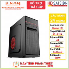 Cấu hình PC Văn Phòng - Giá rẻ H61 - Core i3 2120 - RAM 4G - SSD 128G