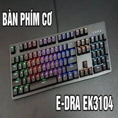 Bàn Phím Cơ E-DRA EK 3104 Led RGB