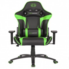 Ghế Ace Gaming Chair - Rogue Series - Model:KW-G6027 - Color: Black/Green