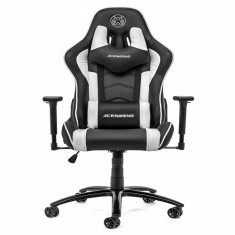 Ghế Ace Gaming Chair - Rogue Series - Model:KW-G6027 - Color: Black/White