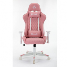 Ghế Gaming Warrior Raider Series WGC206 White Pink