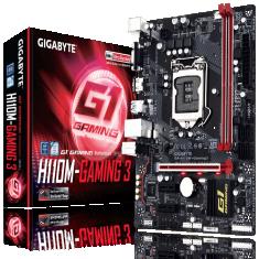 GIGABYTE H110M - Gaming 3