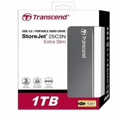 Ổ Cứng Di Động Transcend 1 TB StoreJet C3 Luxury Slim USB 3.0