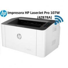 Máy in Laser trắng đen HP 107w Printer (In, Wifi, Trắng đen)_4ZB78A