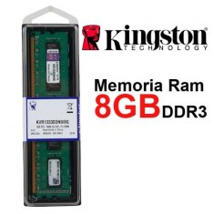Ram Kingston 8GB DDR3-1600