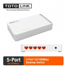 Totolink S505- Switch 5 Cổng tốc độ 100Mbps