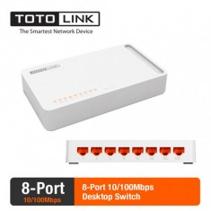 Totolink S808 - Switch 8 Cổng tốc độ 100Mbps