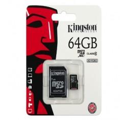Thẻ nhớ SDHC 64Gb Kingston class 10