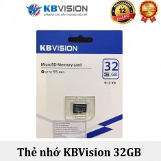 Thẻ nhớ MicroSD 32GB KBVISION