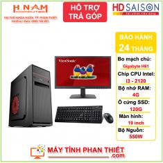 Trọn bộ PC Văn Phòng - Giá rẻ H61 - Core i3 2120 - RAM 4G - SSD 128G - Màn hình 19 inch