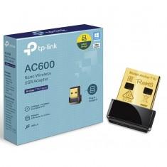 USB Wifi băng tần kép - Archer T2U Nano  - Bộ chuyển đổi USB Wi-Fi Nano AC600