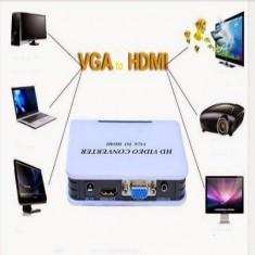 Box chuyển VGA ra HDMI