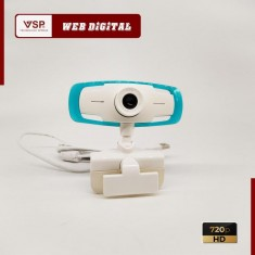 Webcam Digital 720p HD / Kẹp / Có Đèn