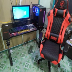 FULLSET PC Gaming B365M/I3 9100F/GTX 1650 4gb/RAM 8G/SSD 240G/hdd 500TB