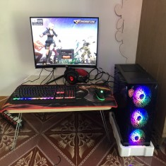 FULL BỘ PC Gaming H310M/G5400/ RAM 8G/ GTX 1030/LCD 24 INCH CONG/ PHÍM CHUỘT TAI NGHE GAME