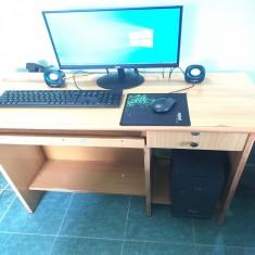 Trọn bộ Máy tính văn phòng - Gigabyte H81 + I3 4130 + Ram 4gb + SSD 120gb + màn hình HKC 20 inch trà