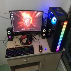 FULLSET PC Game MSI H410 A PRO/I3 10100F/GTX 1030 2gb/RAM 8G/SSD 240GB/LCD HKC cong 24inch/phím chuộ